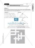 Stationenlernen zum Satz des Pythagoras, mit Memory und Kreuzworträtsel Preview 10