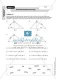 Stationenlernen zum Satz des Pythagoras, mit Memory und Kreuzworträtsel Preview 11