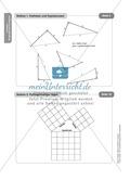 Stationenlernen zum Satz des Pythagoras, mit Memory und Kreuzworträtsel Preview 16