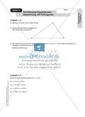 Stationenlernen zum Satz des Pythagoras, mit Memory und Kreuzworträtsel Preview 4