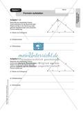 Stationenlernen zum Satz des Pythagoras, mit Memory und Kreuzworträtsel Preview 6