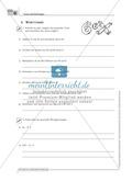 Übungsaufgaben zur Verbindung zwischen kurzen Texten und Sätzen und mathematischen Gleichungen Preview 1