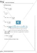 Übungsaufgaben zur Verbindung zwischen kurzen Texten und Sätzen und mathematischen Gleichungen Preview 5