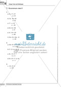 Grundlegende Aufgaben zu Gleichungen und Termen Preview 7