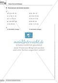 Grundlegende Aufgaben zu Gleichungen und Termen Preview 9