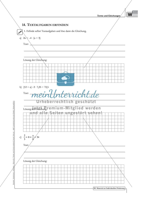 Erfreut Algebraische Textaufgaben Arbeitsblatt Galerie - Super ...