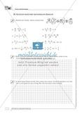 Mathematik, Zahlen & Operationen, Algebra, rationale Zahlen, Terme, Gleichungen, Variablen