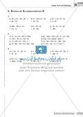 EInfache Aufgaben zum Rechnen mit Klammerausdrücken Preview 5
