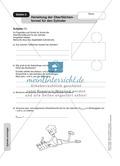 Stationenlernen zu den Eigenschaften von Zylinder und Kegel Preview 4