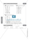 Stationenlernen zum Themenfeld quadratische Funktionen Preview 13