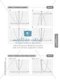 Stationenlernen zum Themenfeld quadratische Funktionen Preview 14