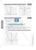 Stationenlernen zum Themenfeld quadratische Funktionen Preview 15