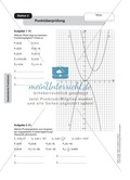 Stationenlernen zum Themenfeld quadratische Funktionen Preview 1