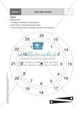 Mathematik, Größen & Messen, Zeit, Ablesen, Maßeinheiten, Zeiteinheiten, Basteln