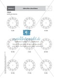 Einführende Aufgaben zum Ablesen analoger Uhren Preview 5