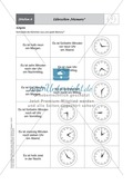 Uhrzeiten-Memory, Spiel zur Festigung der Kenntnisse über Zeitangaben Preview 1