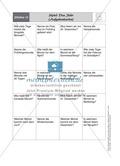 Stationenlernen zum Themenfeld Kalender und Zeit Preview 15