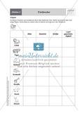 Stationenlernen zum Themenfeld Stochastik in Tabellen Preview 2