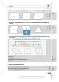 Schnelltest zur Erhebung des Lernstands im Themenfeld Geometrie, Mathe-Führerschein mit Selbstkontrolle Preview 1