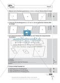Schnelltest zur Erhebung des Lernstands im Themenfeld Geometrie, Mathe-Führerschein mit Selbstkontrolle Preview 2