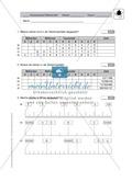 Mathematik, Zahlen & Operationen, funktionaler Zusammenhang, natürliche Zahlen, Zahlenstrahl, Zahlenraum, zuordnen