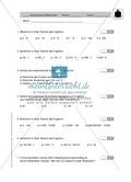 Klassenarbeit aus dem Themenfeld Multiplikation und Division Preview 1