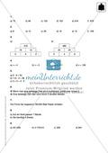 Lernkontrolle zur Punktrechnung Preview 3