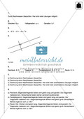 Klassenarbeit zum Themenfeld Geometrie Preview 4