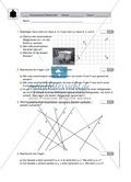 Klassenarbeit zu geometrischen Figuren Preview 1