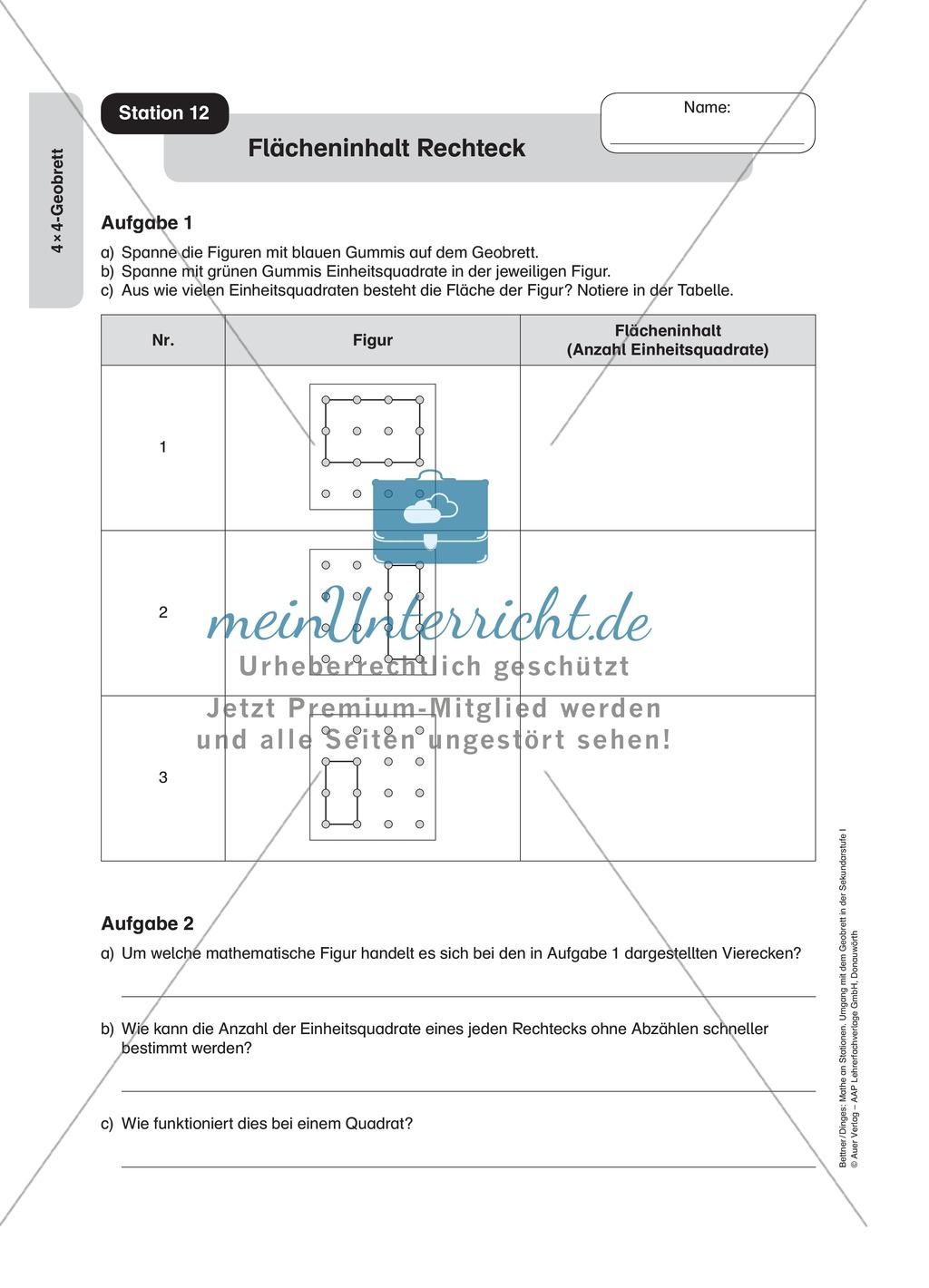 Schön Quadrate Und Quadratwurzeln Arbeitsblatt Galerie - Super ...