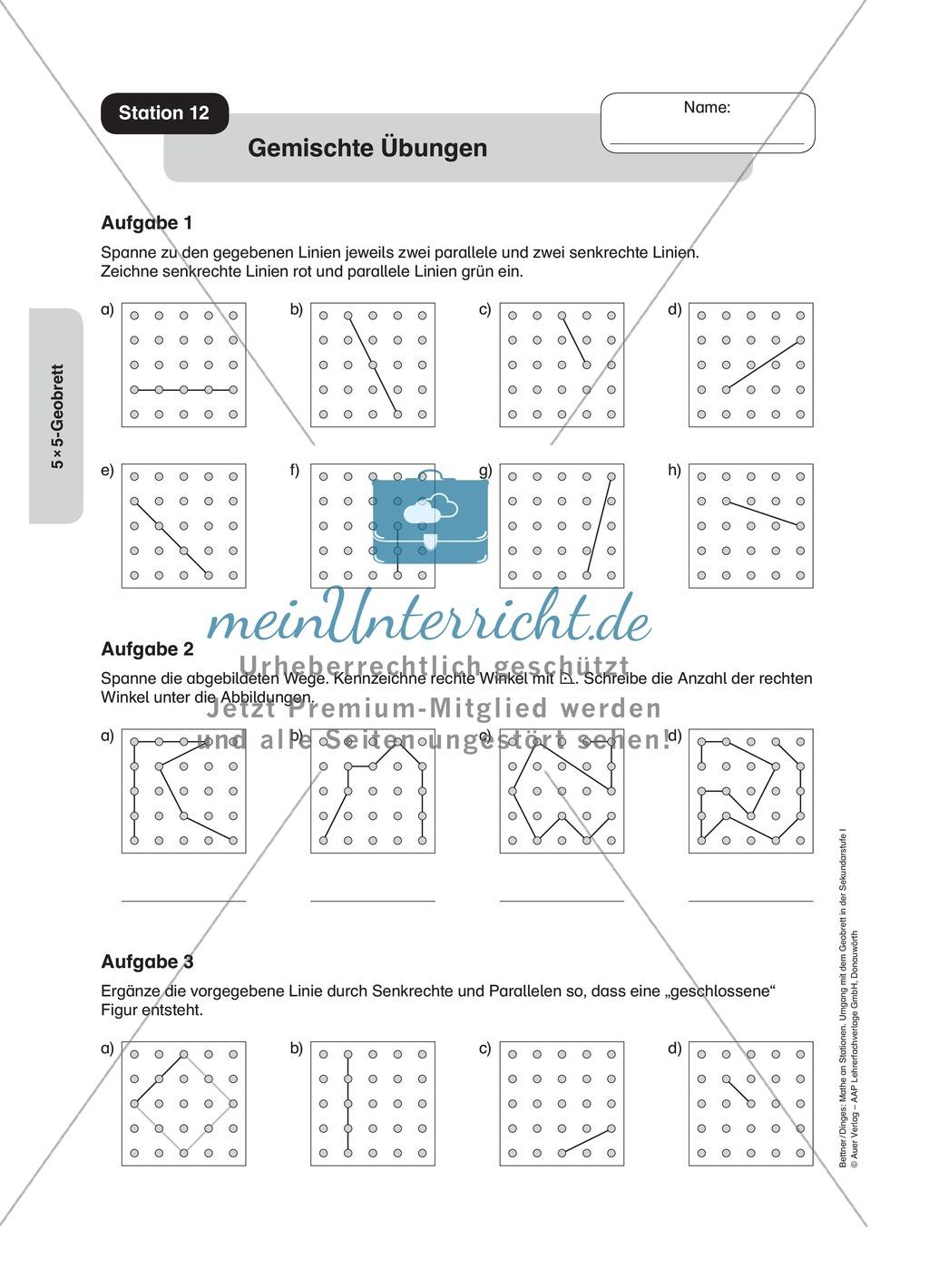 Niedlich Parallele Und Senkrechte Linien Arbeitsblatt Kuta Bilder ...