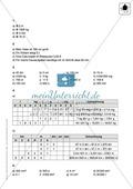 Klassenarbeit zu Maßeinheiten Preview 3