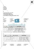 Lernkontrolle zur Maßeinheiten Preview 3