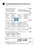 Klassenarbeit zum Themenfeld Maßeinheiten Preview 1