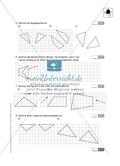 Klassenarbeit oder Lernkontrolle zur Achsensymmetrie Preview 2