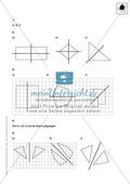Klassenarbeit oder Lernkontrolle zur Achsensymmetrie Preview 3