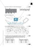 Klassenarbeit oder Lernkontrolle zum Themenfeld Achsensymmetrie und Verschieben Preview 2