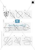 Klassenarbeit oder Lernkontrolle zum Themenfeld Achsensymmetrie und Verschieben Preview 3