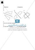 Klassenarbeit oder Lernkontrolle zum Themenfeld Achsensymmetrie und Verschieben Preview 4