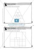 Aufgaben auf Karteikarten aus dem Themenfeld Flächen und Körper, zur Selbstkontrolle Preview 1