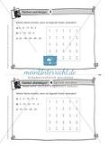 Aufgaben auf Karteikarten aus dem Themenfeld Flächen und Körper, zur Selbstkontrolle Preview 3