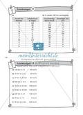 Rechenaufgaben auf Karteikarten zur Selbstkontrolle Preview 2
