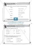 Kopfrechenaufgaben mit Größen auf Karteikarten zur Selbstkontrolle Preview 1