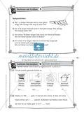 Kopfrechenaufgaben mit Größen auf Karteikarten zur Selbstkontrolle Preview 5