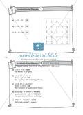 Übungsaufgaben au Karteikarten aus dem Themenfeld Geometrische Flächen Preview 2