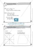 Übungsaufgaben au Karteikarten aus dem Themenfeld Geometrische Flächen Preview 4