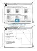 Übungsaufgaben au Karteikarten aus dem Themenfeld Geometrische Flächen Preview 5