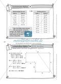 Übungsaufgaben au Karteikarten aus dem Themenfeld Geometrische Flächen Preview 6
