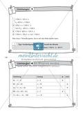Übungsaufgaben auf Karteikarten aus dem Themenfeld Gleichungen, zur Selbstkontrolle Preview 4