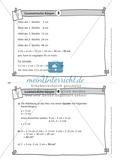 Übungsaufgaben auf Karteikarten aus dem Themenfeld geometrische Körper, zur Selbstkontrolle Preview 4